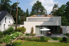 Wohnhaus mit extensiver Dachbegrünung