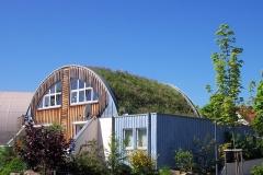 Wohnhaus mit Gründach