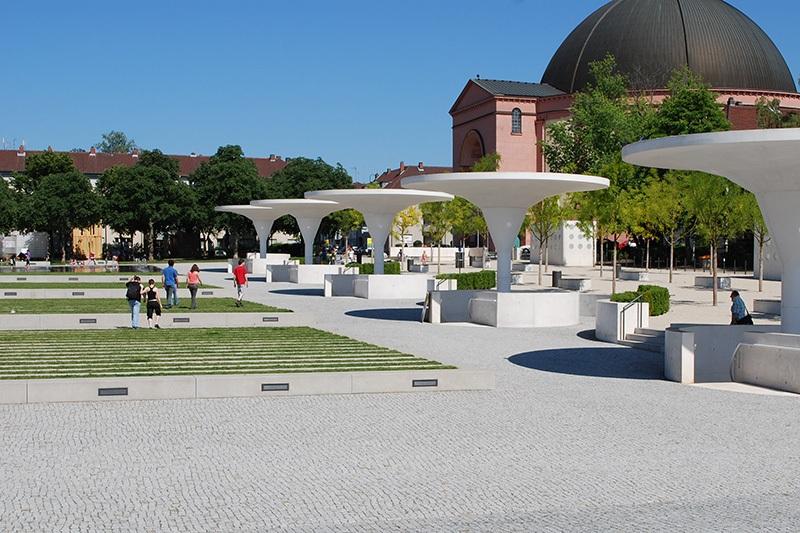 Georg-Büchner-Platz in Darmstadt
