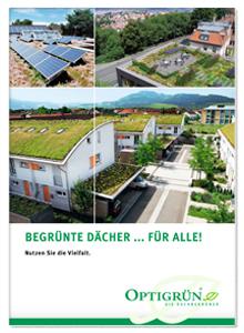 """Broschüre """"Begrünte Dächer ... für alle!"""""""